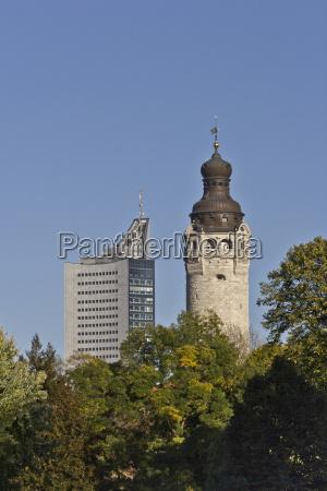 germany saxony leipzig new city hall