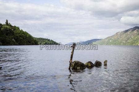 great britain scotland lake loch ness
