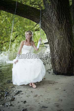 germany rhineland palatinate portrait of bride