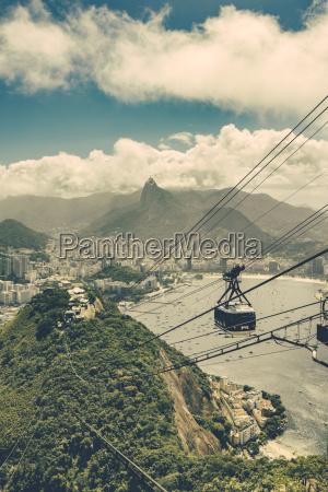 brazil rio de janeiro cable car