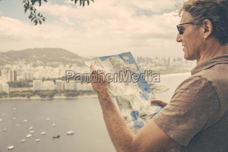 brazil rio de janeiro tourist looking