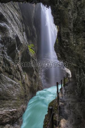 germany bavaria werdenfelser land partnach gorge
