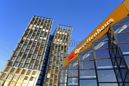 germany hamburg dancing towers office building
