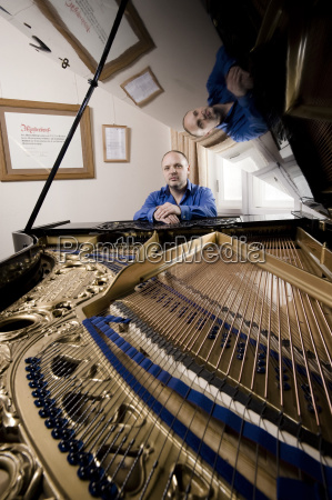 musik musikinstrument arbeitsstaette portrait portraet potrait