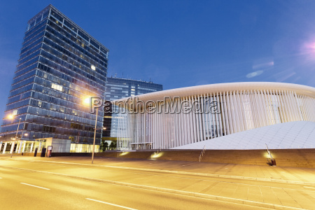 luxembourg kirchberg philharmonie luxembourg in the