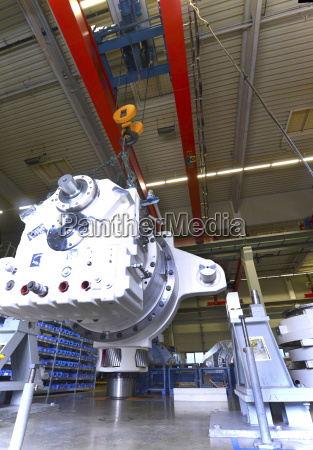 germany production of wind tubines fitting