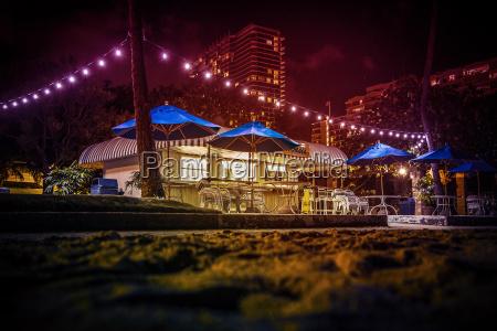 usa hawaii oahu waikiki beach snackhaus