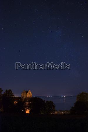 germany view of meersburg castle and