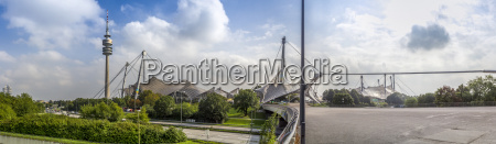 germany munich panoramic view of the