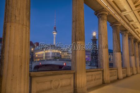 germany berlin bridge over the spree