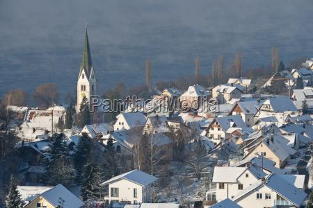 turm fahrt reisen kirche stadt winter