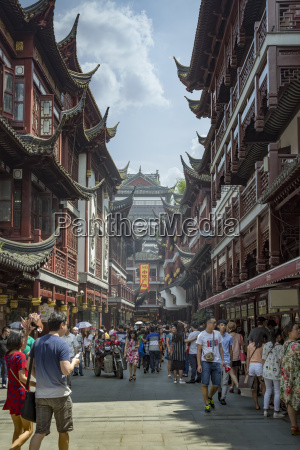 china shanghai yuyuan old street mit