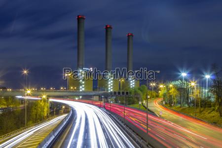 deutschland berlin kraft waerme kopplungskraftwerk berlin