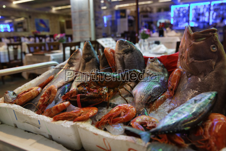 europe turkey istanbul fish restaurant on