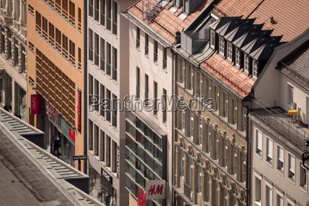 germany bavaria munich shopping street