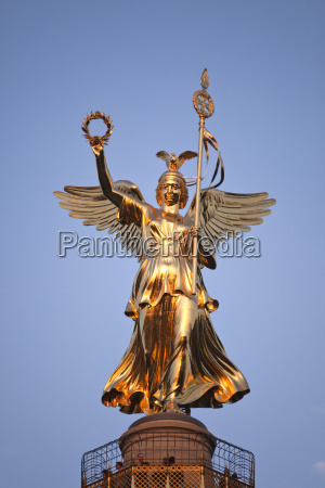 germany berlin goddess of victory on