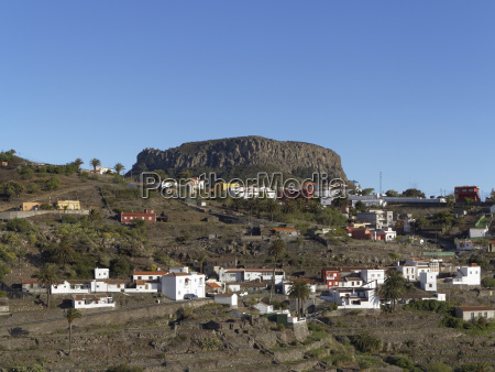 spain chipude village and fortaleza mesa