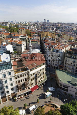 turkey istanbul view from galata tower