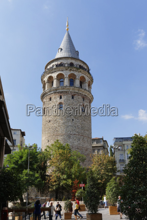 turkey istanbul view of galata tower