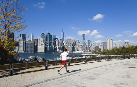 usa new york brooklyn bridge park