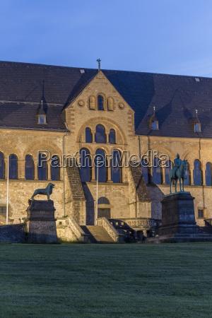 deutschland niedersachsen goslar kaiserpalast in der