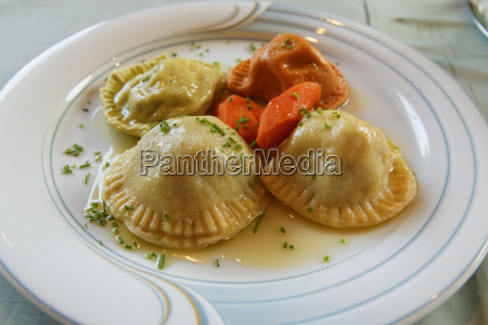 austria carinthia carinthian pasta on plate