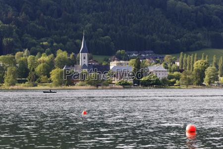 austria carinthia view of lake ossiach