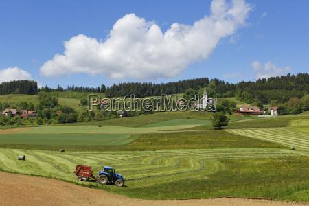austria carinthia view of deinsberg village