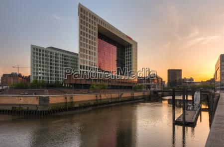 germany hamburg high rise office building