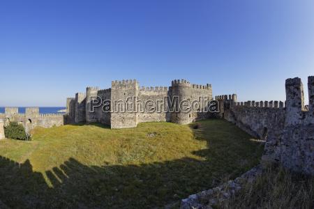 turkey anamur mamure castle
