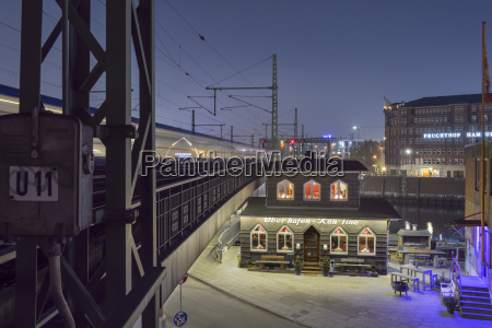 germany hamburg listed building oberhafenkantine at