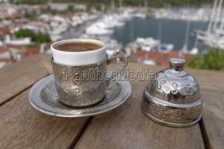 turkey mugla province marmaris turkish coffee