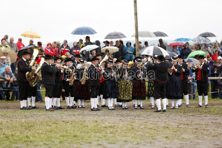 germany black forest brass band at