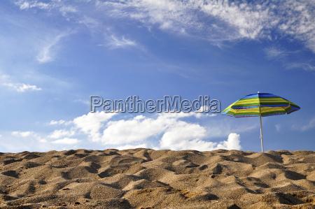 portugal algarve sun shade at beach