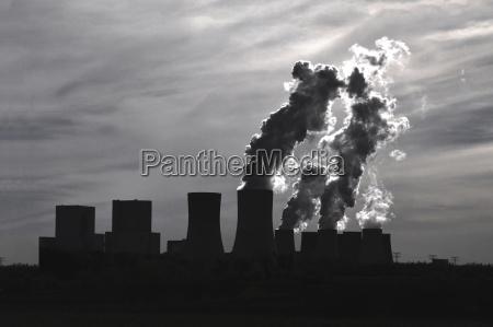 deutschland brandenburg jaenschwalde kraftwerk