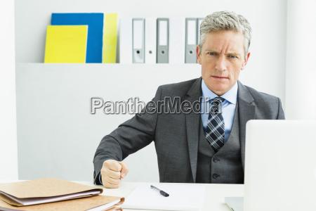 germany portrait of businessman