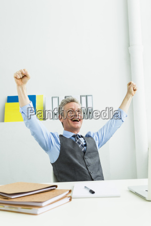 germany businessman laughing