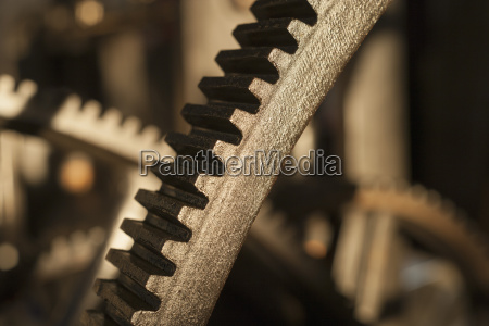 germany bavaria cogwheels of old printing