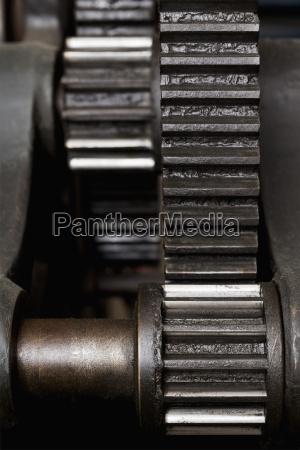 germany bavaria cog wheels of printing