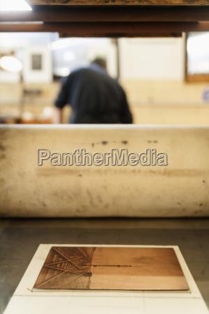 germany bavaria copperplate in print shop