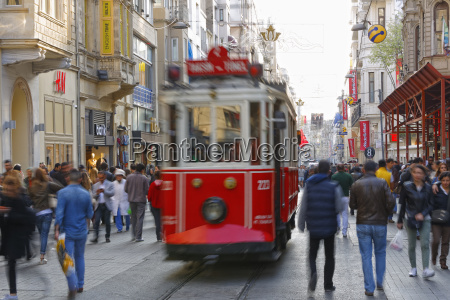 turkey istanbul beyoglu people and historical
