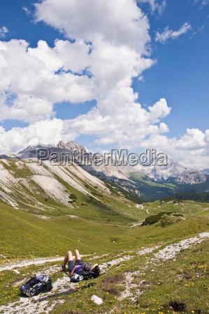 italy south tyrol dolomites fanes sennes