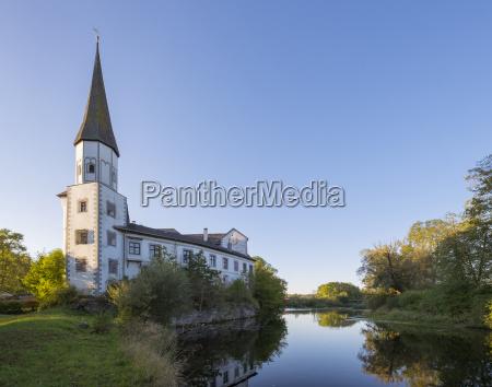 germany upper bavaria traunreut pernstein castle