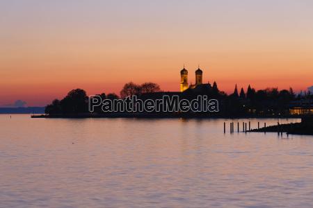 germany friedrichshafen lake constance view to