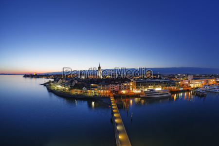germany lake constance friedrichshafen in the