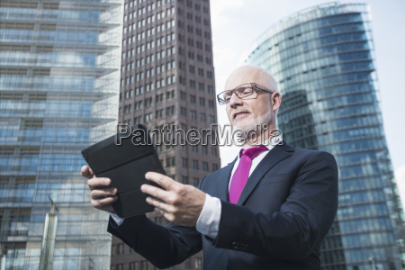 germany berlin potsdam square business man
