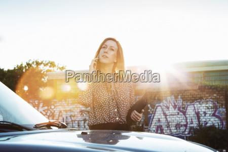 portrait portraet potrait sommer sommerlich auto