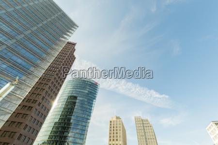 germany berlin buildings around the potsdamer