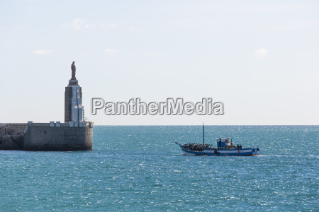 spain view of fishing boat at