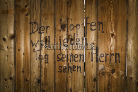 escrever madeira agricultura bavaria parede fonte